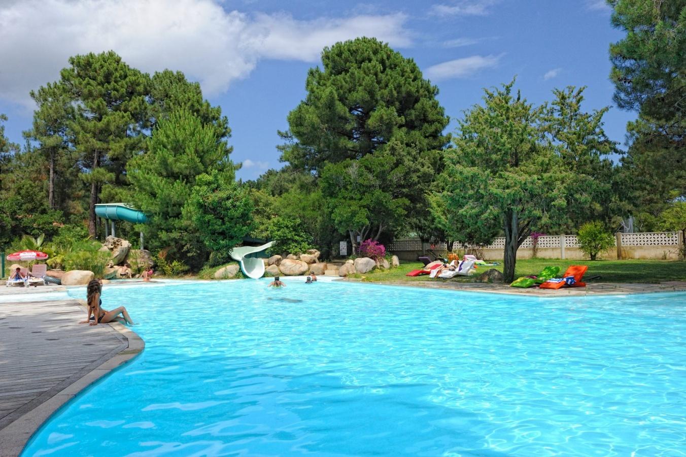Camping u mulinacciu corse france espace aquatique for Camping corse bastia avec piscine
