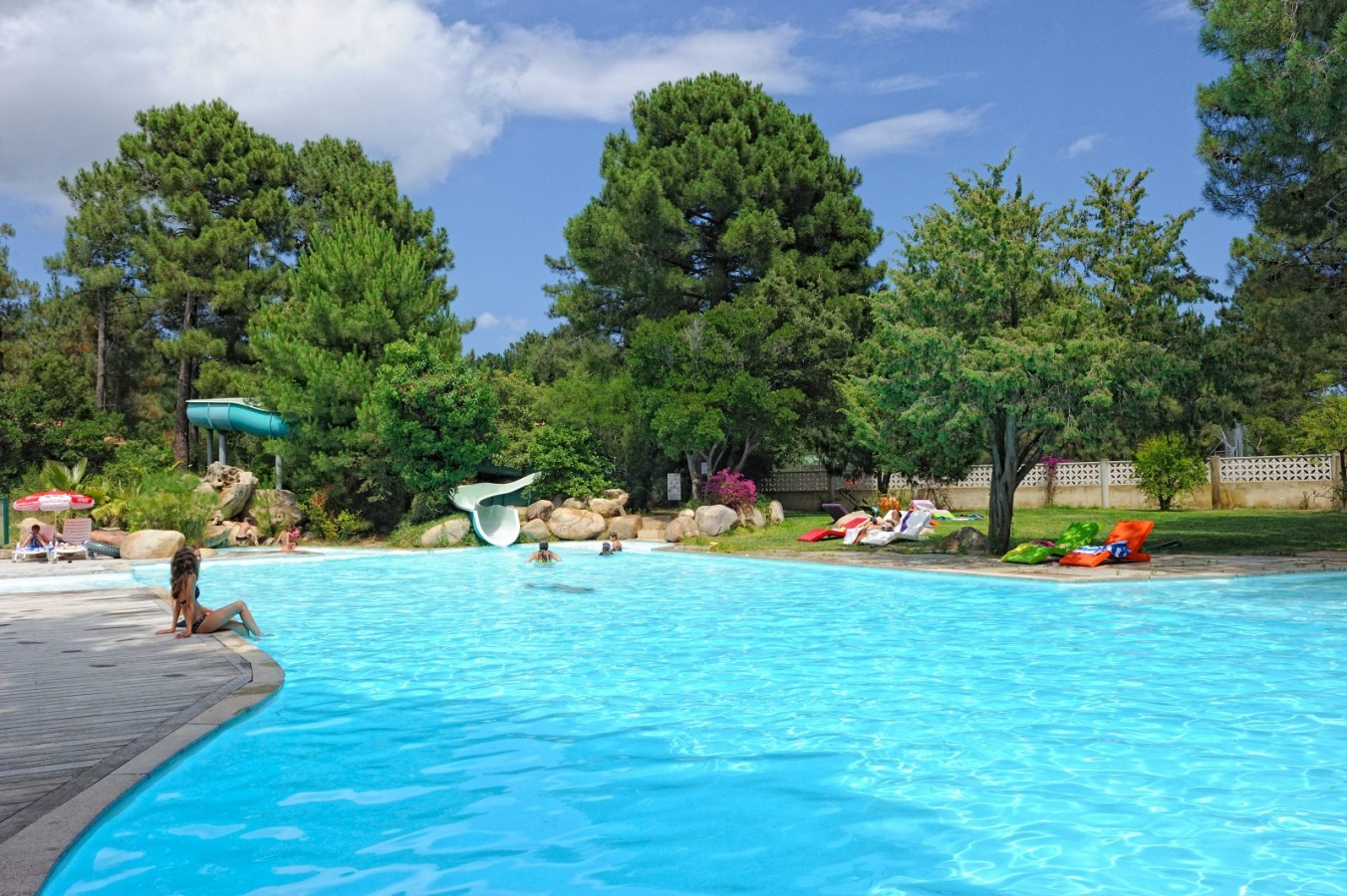 Camping u mulinacciu corse france pr sentation for Camping avec piscine corse du sud